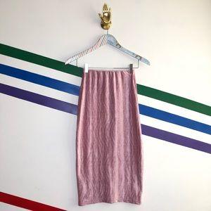 NEW Urban Outfitters velvet midi skirt